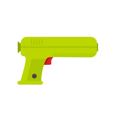 toy water gun icon flat style vector image