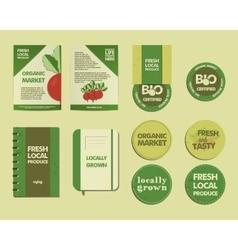 Farm Fresh Identity vector image