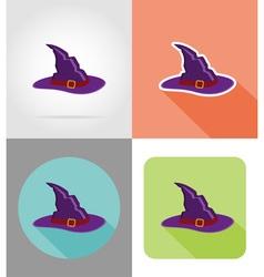 halloween flat icons 13 vector image vector image