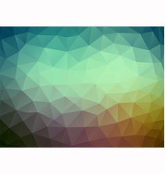 Flat multicolor geometric triangle wallpaper vector