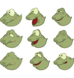 Set of Tadpoles Cartoons vector image