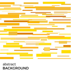 abstract background of yellow rectangles vector image