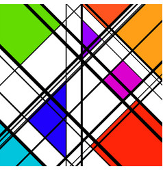 abstract geometric background geometric shapes vector image