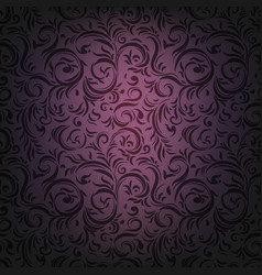 drama violet ornament vector image