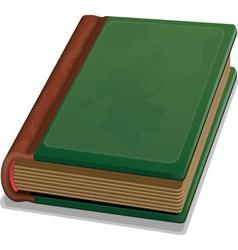 Hardcover book vector