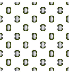 Knee pad pattern vector