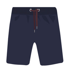 Men shorts icon on a white background vector