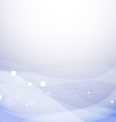 Sparkling blue background vector