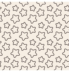 Stars stripped geometric seamless pattern vector image