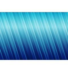 Striped blue abstract background vector image