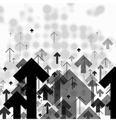 Science or Business Abstract Monochrome Background vector image vector image