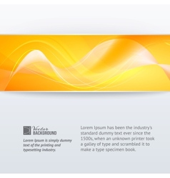 Abstract horizontal label vector image vector image