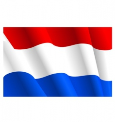 flag of Netherlands vector image vector image