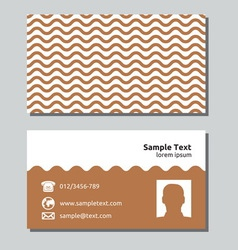 Businessman card11 resize vector image