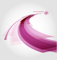 abstract background element in red pink and white vector image vector image