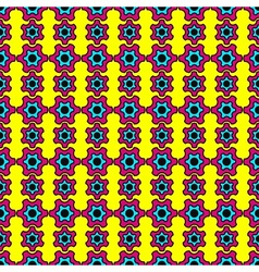 Abstract pattern inspired by Pop Art vector