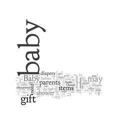 bashower gifts vector image