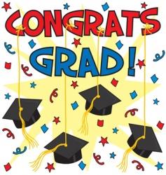 Congrats grad vector