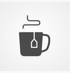 mug icon sign symbol vector image
