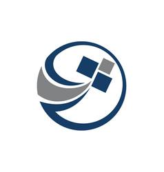 online marketing app software vector image