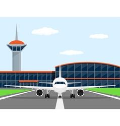 plane vector image