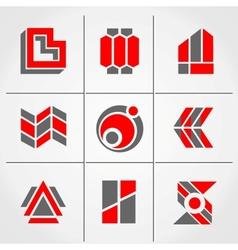 universal symbols vector image