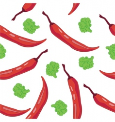 chili pepper vector image vector image