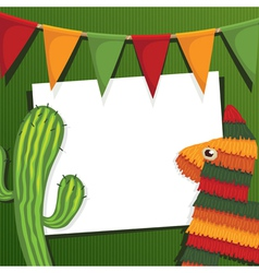 mexican party vector image vector image