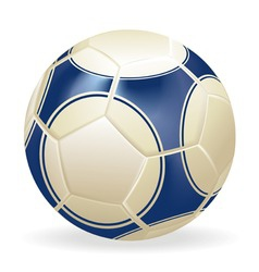 Ball soccer vector