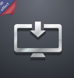 Download Load Backup icon symbol 3D style Trendy vector