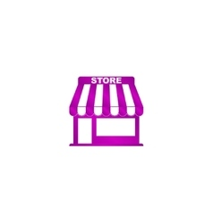 Store icon concept for design vector image
