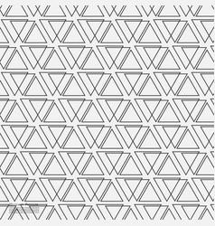 Triangle geometric flat pattern vector