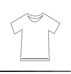 Tshirt icon design vector