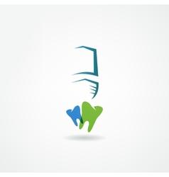 stomatology icon vector image