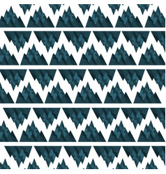 Big mountains pattern background vector