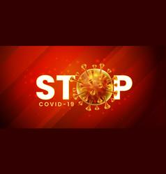 Covid-19 corona virus global pandemic lockdown vector