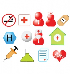 Healthcare design vector image