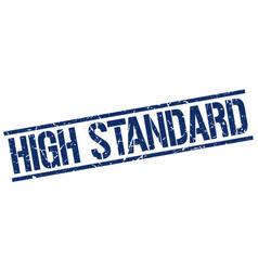 High standard stamp vector