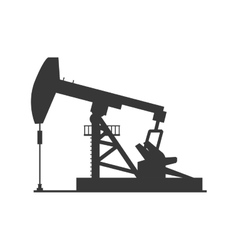 Oil pump icon Oil industry concept vector