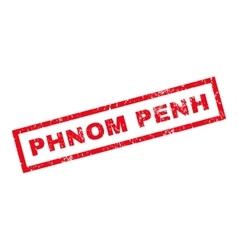 Phnom Penh Rubber Stamp vector