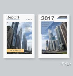 poster brochure vector image