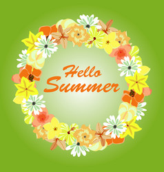summer background banners vector image