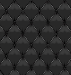 Black Leather Upholstery vector image