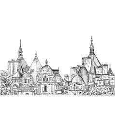 Sketch of London vector image vector image