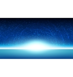 Space sky background vector image