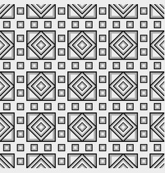 squared tile pattern vector image vector image