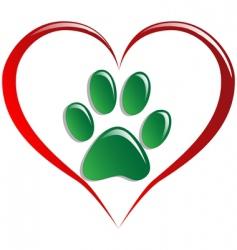 love animals vector image vector image