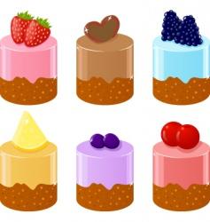 shortcakes vector image vector image