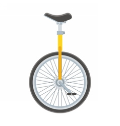 Unicycle vector image