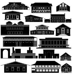 Australian architecture-3 vector